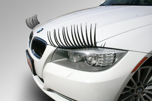 amazing eyelashes for decorating your car durable auto parts and car accessories. Black Bedroom Furniture Sets. Home Design Ideas