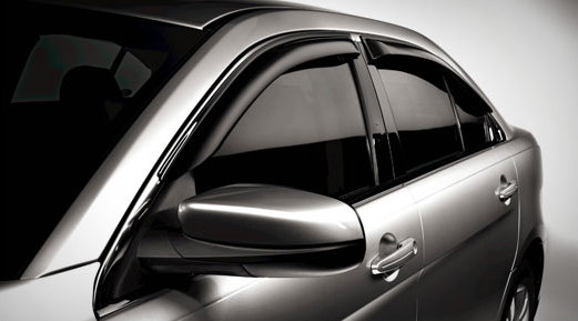 Camouflage Side Window Deflector A Safe Car Accessories